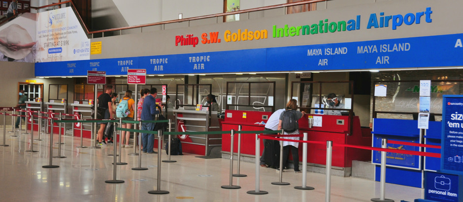 Belize International Airport Shuttle Hopkins 2021 - Julian Transfers