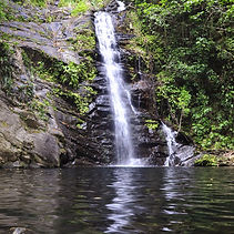 Southern Belize waterfalls at Mayan Sky Canopy tours