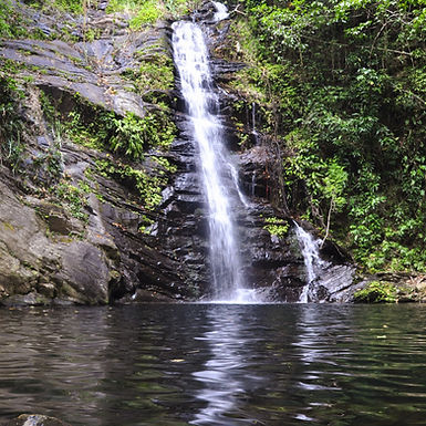 Belize waterfalls at Mayan Sky Canopy tours