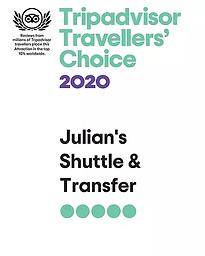 Julian Transfer TripAdvisor Travel Choic.webp