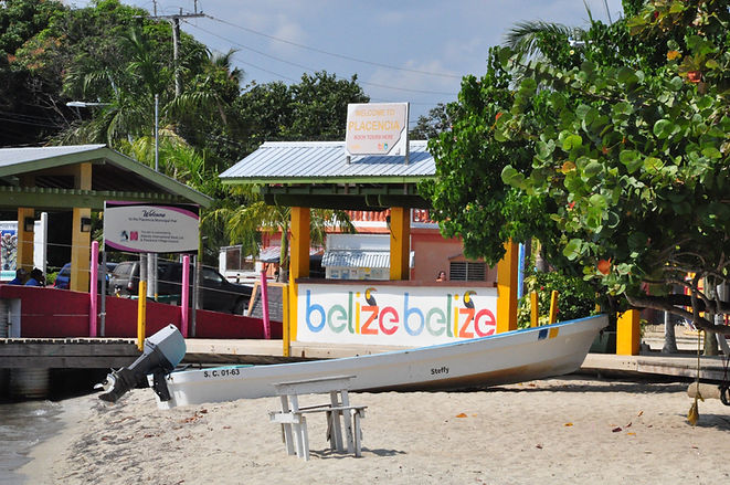 Placencia Penisula most southern tip - Stann Creek District, Belize