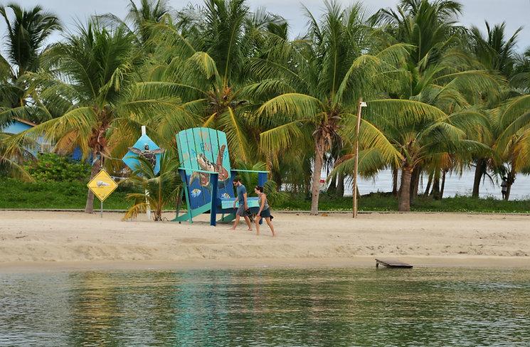 Placencia Village big beach chair - Stann Creek Belize.jpg