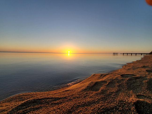 Hopkins Village sunrise - Southern Belize
