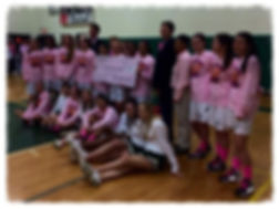 Lady Cougars Annual Pink Benefit Game