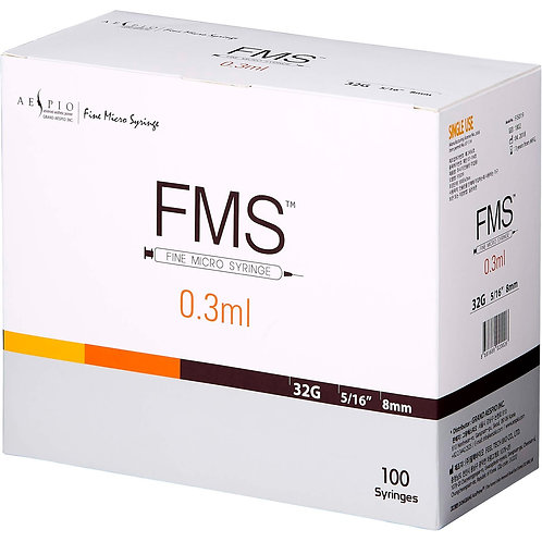FMS 32G Ultra-Thin Wall Needle (0.3ml)