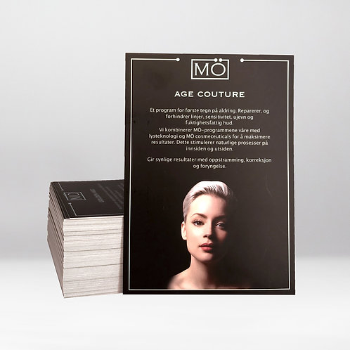 MÖ Age Couture Programme Cards - Norwegian (10 cards)