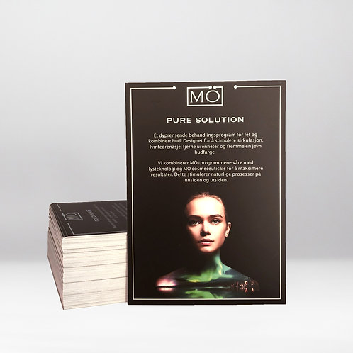 MÖ Pure Solution Programme Card - Norwegian (10 cards)