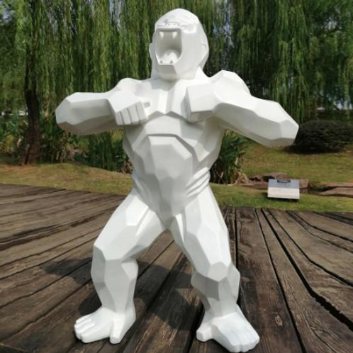 Geometric gorilla statute