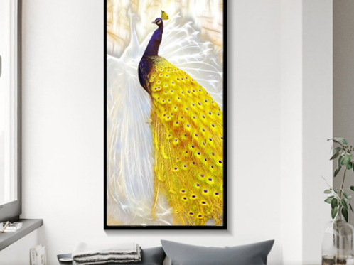 Canvas painting Framework Wall Art Peacock