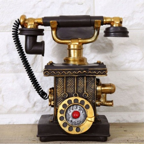 Retro telephone with built in money box in 3 colours.