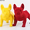 Thumbnail: French Bulldog Animal statue with Multicolour Optional
