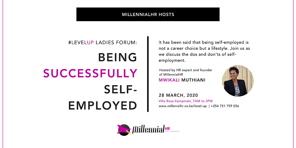 #LevelUP Ladies Forum: Being Successfully Self-Employed