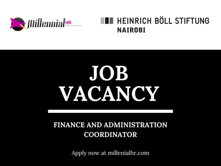 CLOSED | Job Vacancy: Finance and Administration Coordinator
