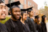 A group of foster children in NY graduate high school