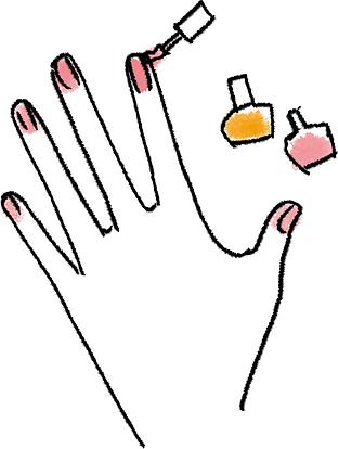 Spring whitening&nail salon