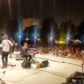 Performed for a near max capacity crowd