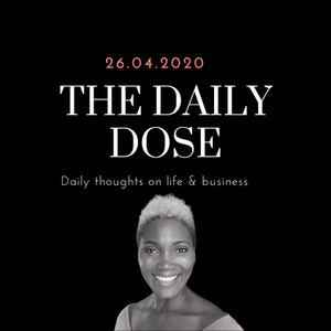 The daily dose blog banner