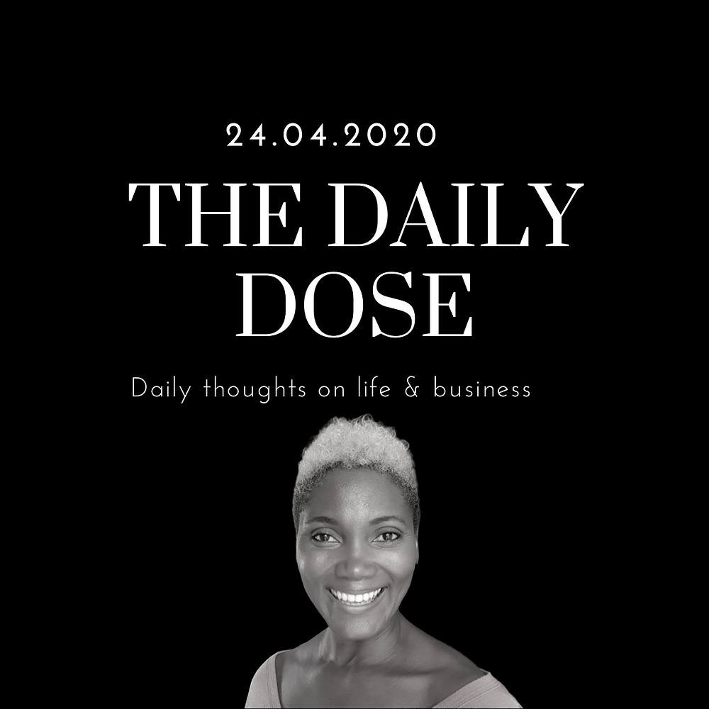 The daily dose blog graphic
