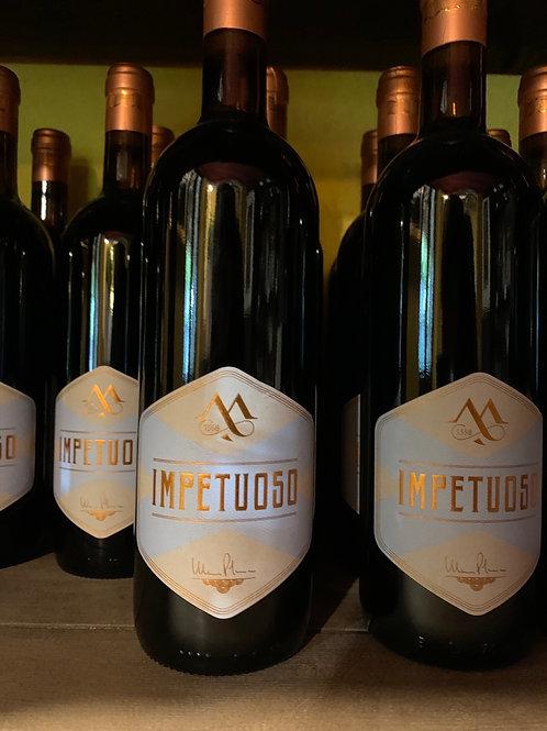 IMPETUOSO MOSSI- Vino rosso fermo, Gutturnio superiore - SCATOLA DA 6 BOTTIGLIE