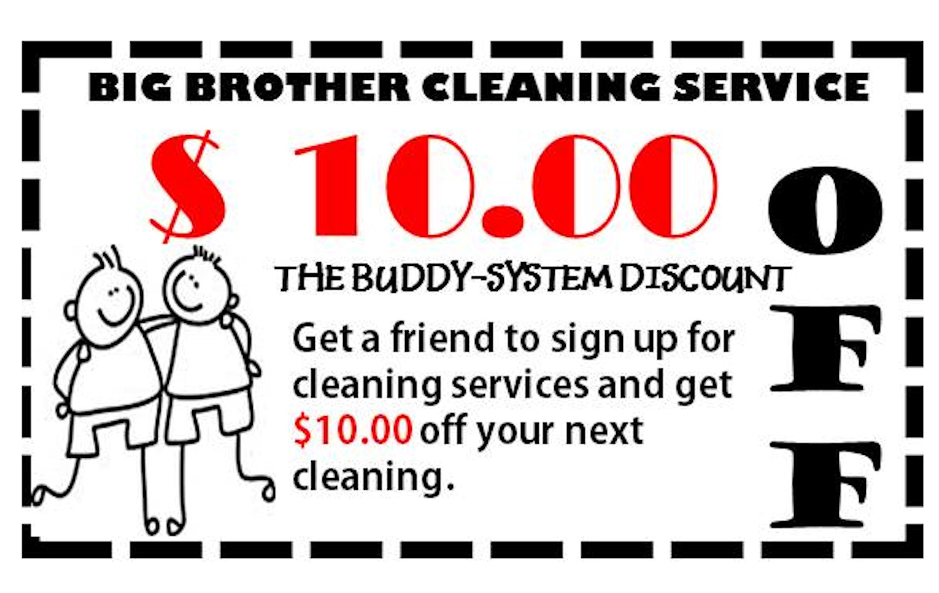 BUDDY-SYSTEM DISCOUNT
