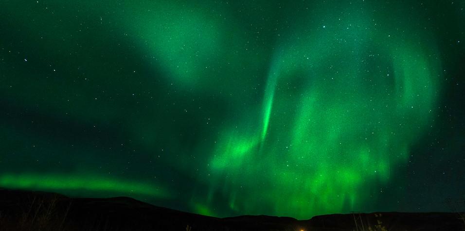 Zorza - Islandia