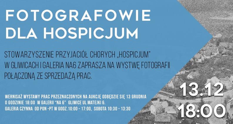 Fotografowie dla Hospicjum - galeria na6 w Gliwicach