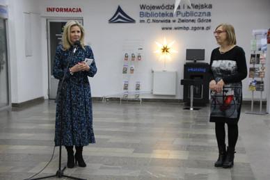 Wernisaz wystawy MAGIA W PEJZAŻU w WiMBW w Zielonej Górze