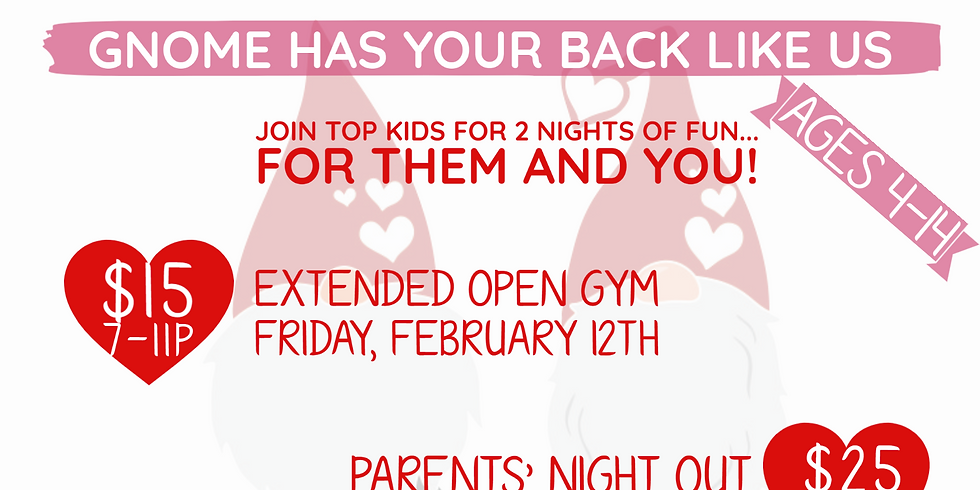Extended Valentine's Open Gym