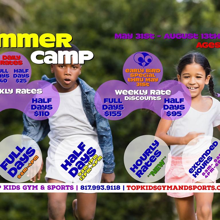 FULL WEEK - 9AM-4PM Summer Camp