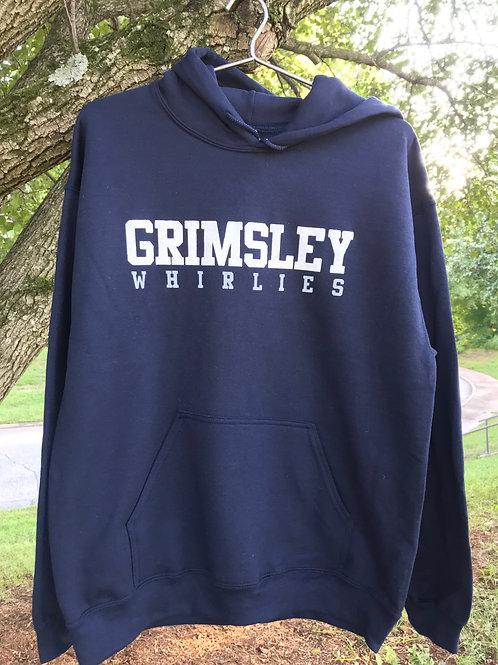 Grimsley Whirlies Navy Hoody