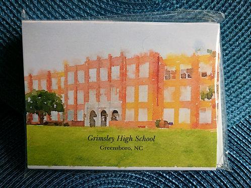 Grimsley Main Building Notecards