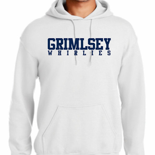 Grimsley Whirlies White Hoody