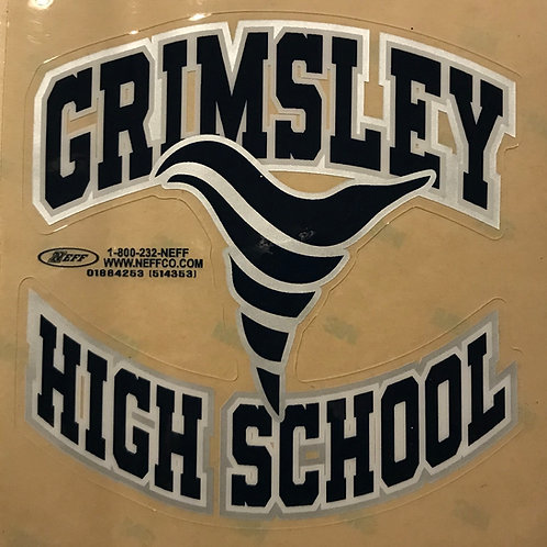 Grimsley High School Heavy Duty Decal