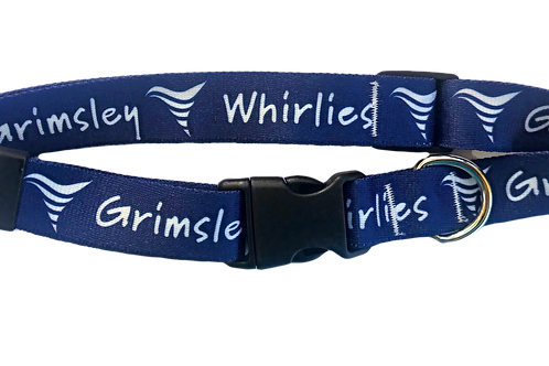 Grimsley Whirlies LARGE Dog Collar