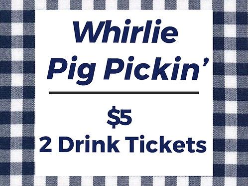 GABC Whirlie Pig Pickin' Drink Tickets (2)