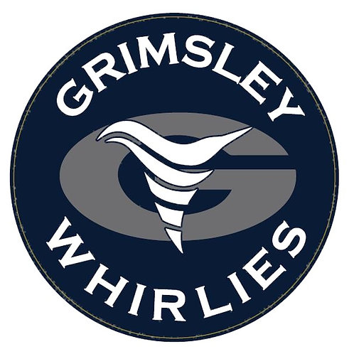 "NEW Grimsley Whirlies 5"" Round Car Magnet"