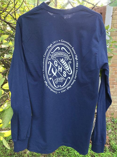 Long Sleeve Crest T-Shirt
