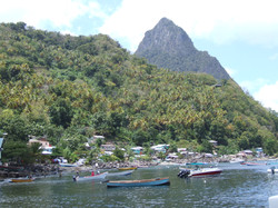 Soufriere & the Pitons
