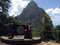 Pitons Monument