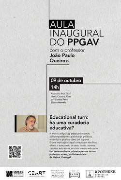 Aula Inaugural do PPGAV
