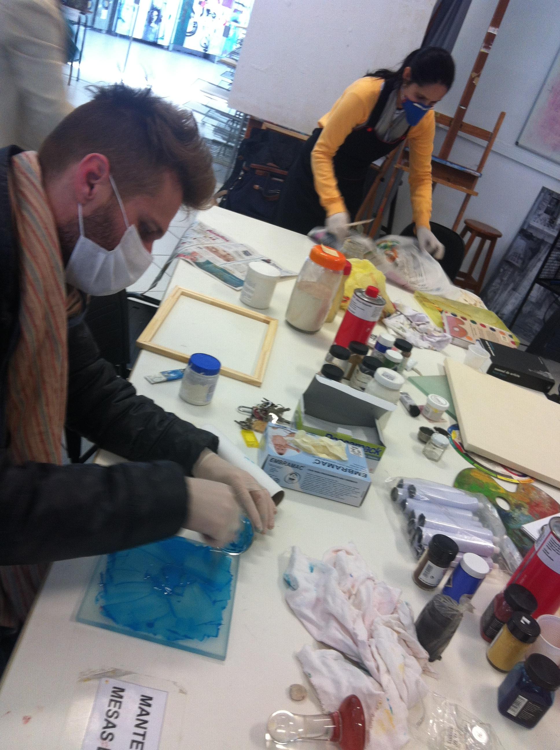 Encontro 17 : Tintas artesanais