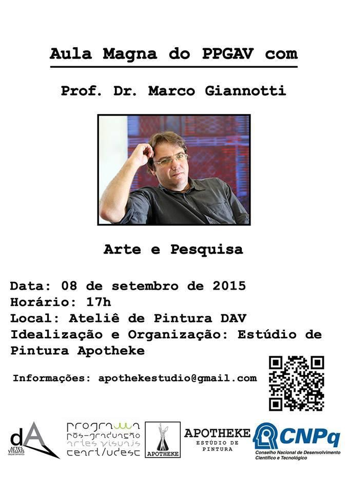 Aula Magna com Marco Giannotti