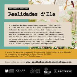 AULA ABERTA Encontro Virtual Realidades d'Ela com Profª Drª Isabel Sabino