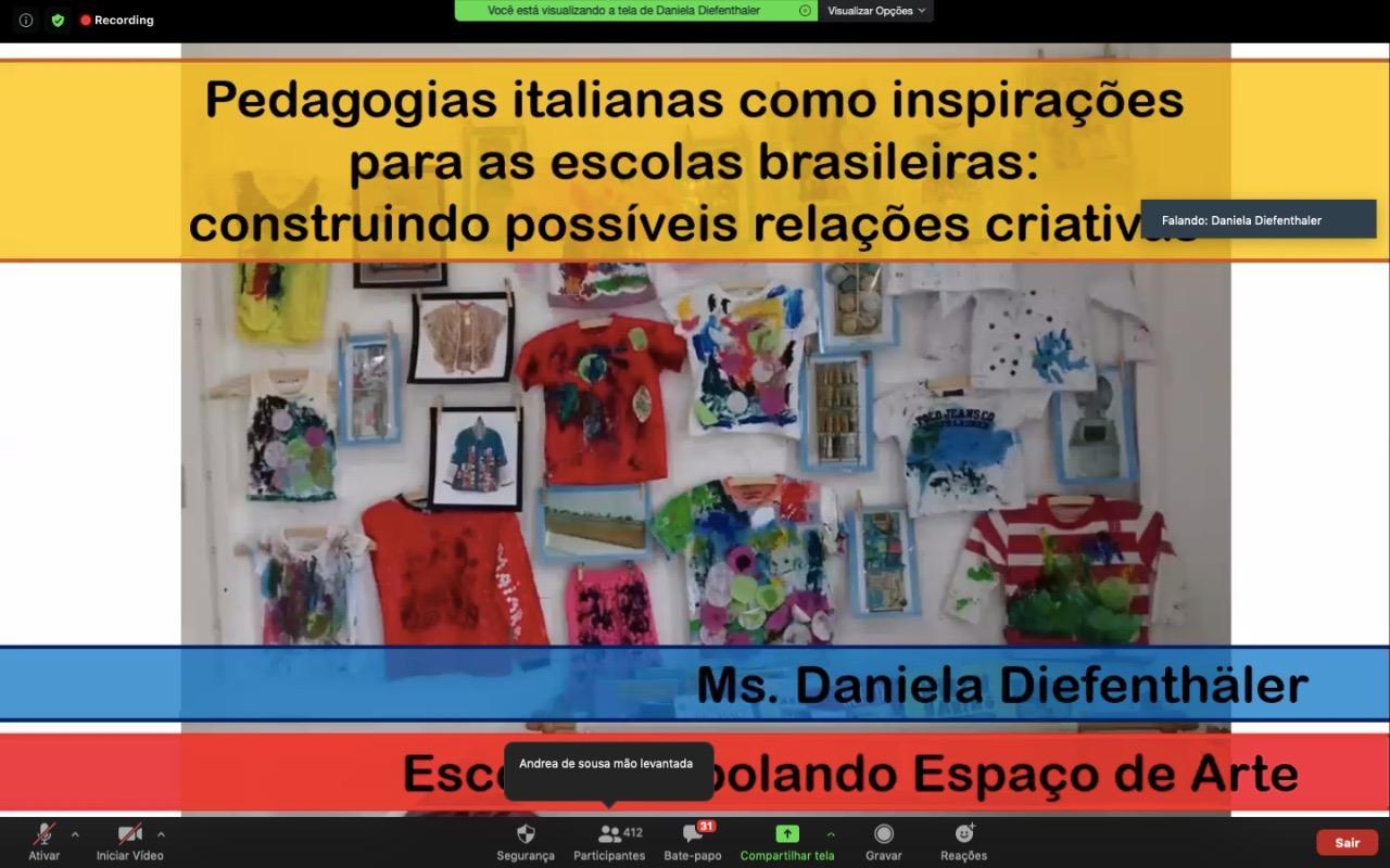 Aula aberta - Pedagogias Italianas como inspiração para as escolas brasileiras