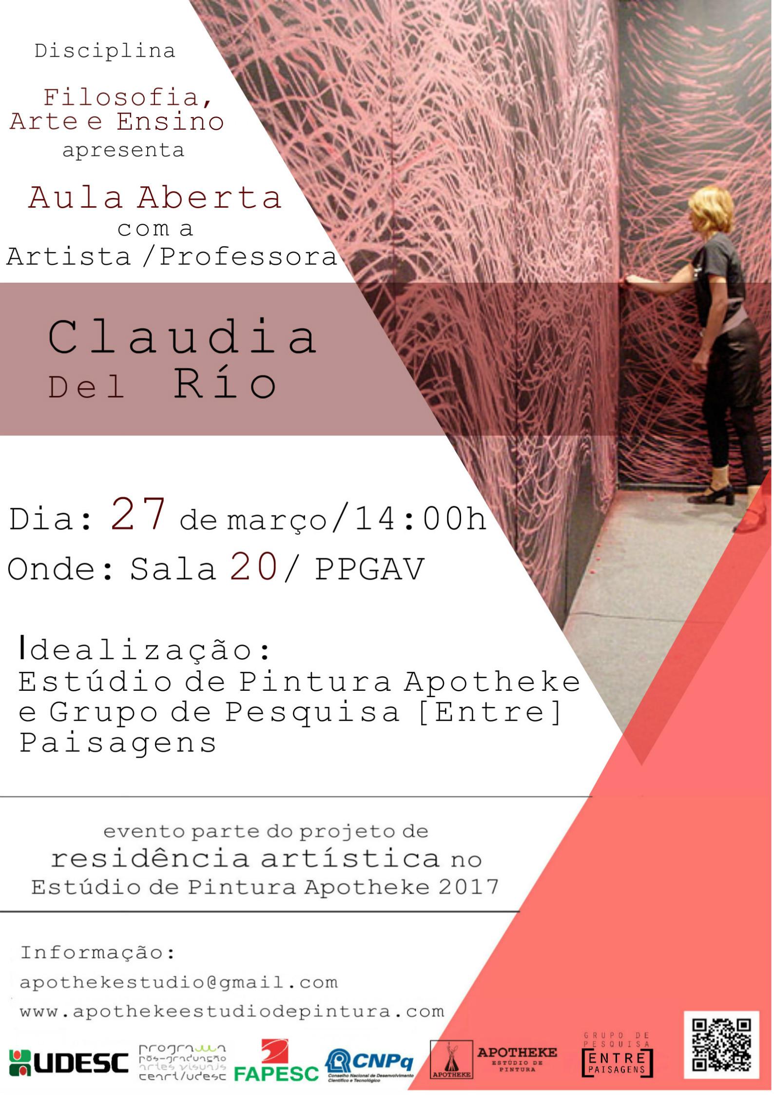 Aula Aberta com Claudia Del Río