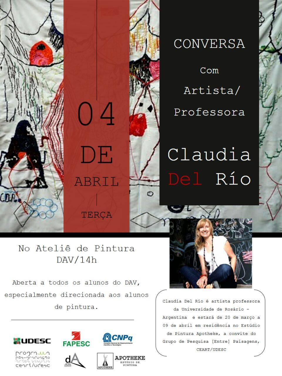 Conversa com Claudia Del Río