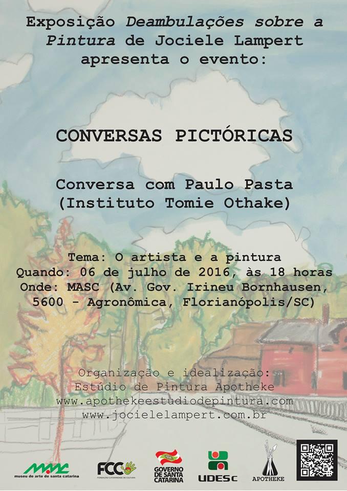 Conversa Pictórica com Paulo Pasta