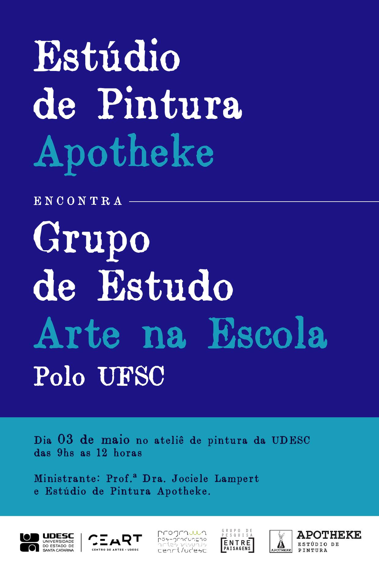 Encontro Arte na Escola Polo UFSC