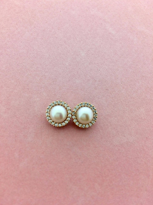 Pink Obsession White Pearl sutds