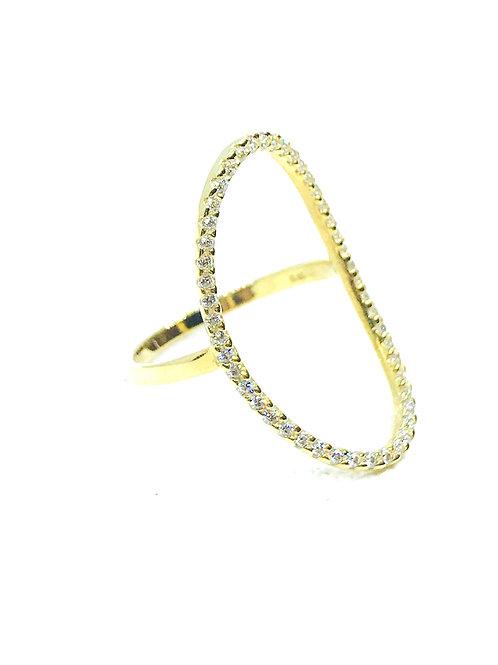 Δαχτυλίδι Χρυσό Κ14-585'